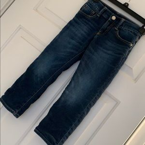 Gap Soft Lined Straight Jeans